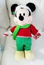 "Disney's Mickey Mouse With Green Scarf 20"" Greeter Plush"