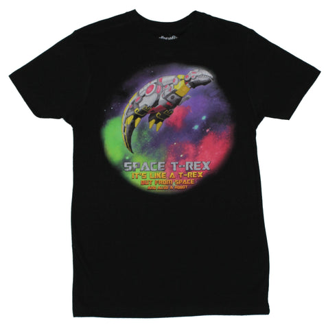 Space Mens T-Rex T-Shirt -  Like a Trex, but From Space And Also A Robot""