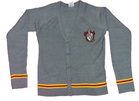 Harry Potter Girls Plus Size Cardigan - Gryffindor House Crest