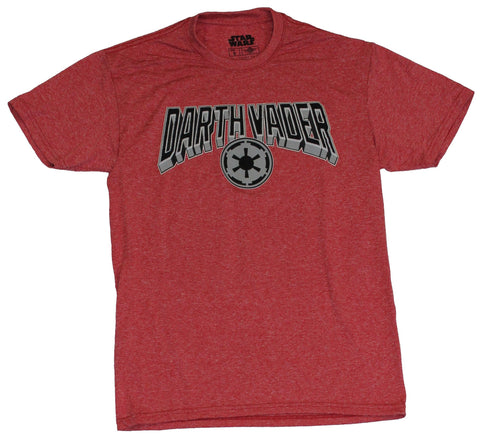 Star Wars Moisture Wicking Mens T-Shirt - Darth Vader Name Over Imperial Logo