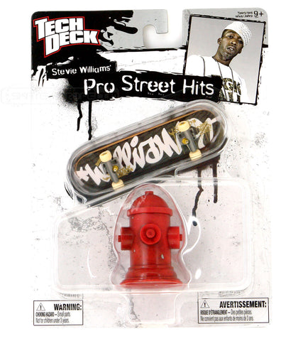 Teck Deck Pro Hits Stevie Williams With Fire Hydrant 20036074