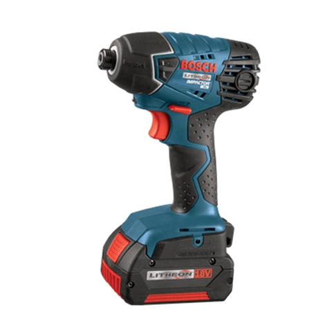 Bosch 25618-01 Impact Driver - 18v Li (2 Fat Pa Battery)