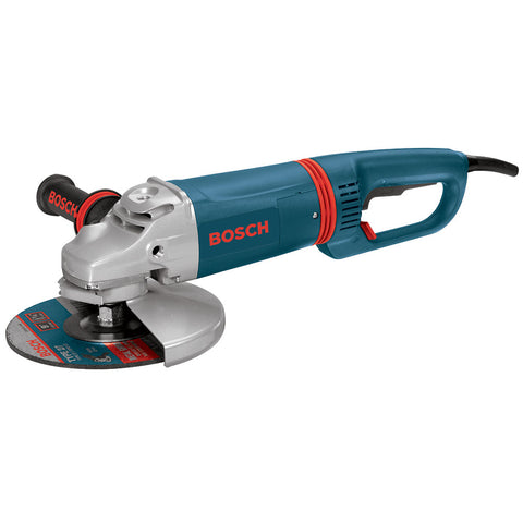 "Bosch 1894-6D 9"" 6,000 RPM Large Angle Grinder w/ D-Handle and No Lock-On"