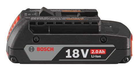 Bosch BAT612 18V Lithium-Ion 2.0Ah Clamshell High Capacity Battery