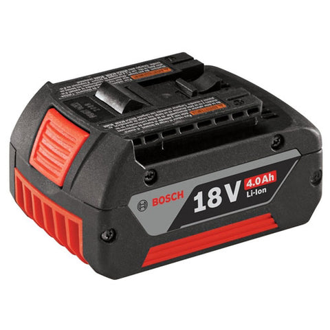 Bosch BAT620 18V Lithium-Ion 4.0Ah Clamshell Fat Battery Pack