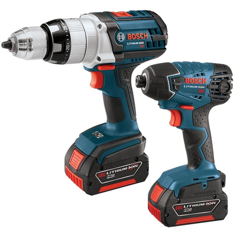 Bosch CLPK221-181 18V 2 Piece Combo Kit - Hammer Drill/Driver and Impact Driver
