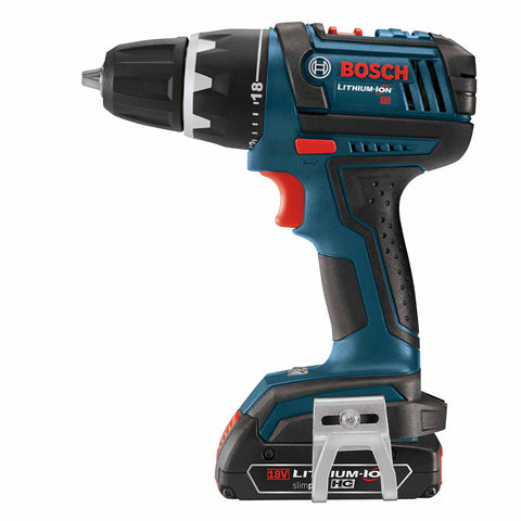 "Bosch DDS181A-02L 18V Compact Tough 1/2"" Drill/Driver Kit with L-Boxx Case"