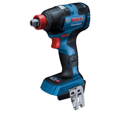 "Bosch GDX18V-1800CN 18V 1/4"" and 1/2"" 2-In-1 Bit/Socket Impact Driver, Bare Tool"