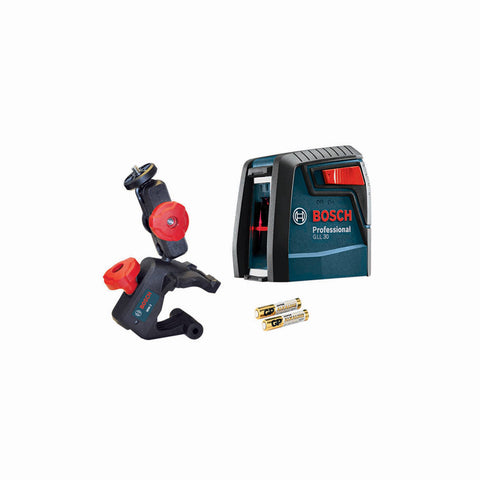 Bosch GLL 30 Self-Leveling Cross-Line Laser