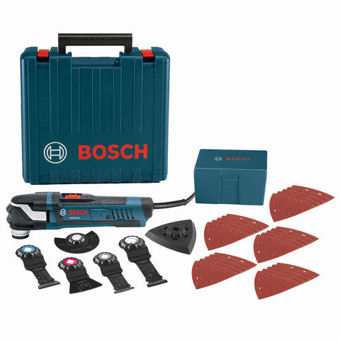 Bosch GOP40-30C StarlockPlus Oscillating Multi-Tool Kit, Snap-In Accessories