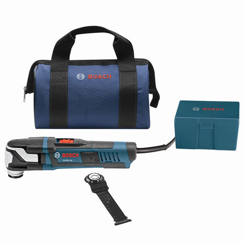 Bosch GOP55-36B StarlockMax Oscillating Multi-Tool Kit with Snap-In Blade