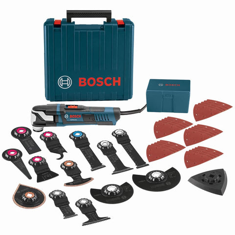 Bosch GOP55-36C2 40 Piece StarlockMax Oscillating Multi-Tool Kit