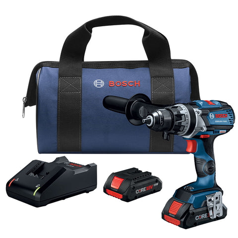 "Bosch GSR18V-755CB25 18V EC Brushless Connected-Ready 1/2"" Drill/Driver Kit"