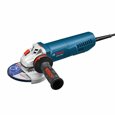 "Bosch GWS13-50PD 5"" High-Performance Angle Grinder, No-Lock-On Paddle Switch"