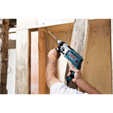 "Bosch HD19-2 1/2"" 2-Speed Hammer Drill with Carrying Case"
