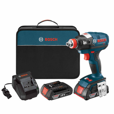 "Bosch IDH182-02 18V EC Brushless 1/4"" and 1/2"" Socket-Ready Impact Driver"