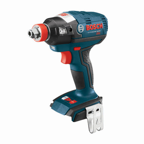"Bosch IDH182B 18V EC Brushless Impact Driver with 1/4"" Hex, 1/2"" Square Drives"