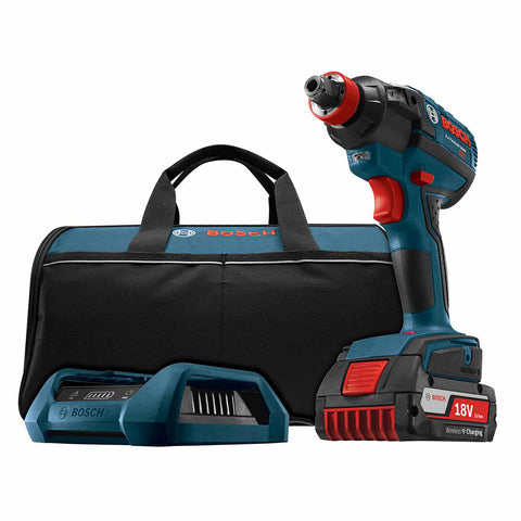 "Bosch IDH182WC-102 18V EC Brushless 1/4"" and 1/2"" Socket-Ready Impact Driver"