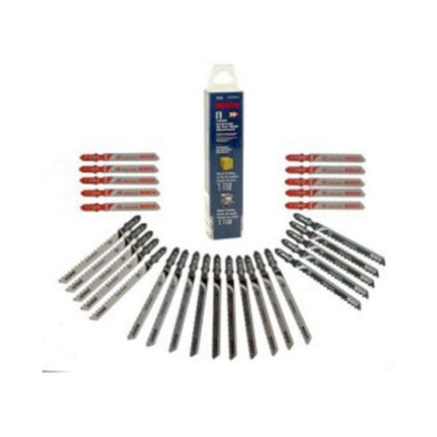 Bosch T30C 30 Piece Wood/Metal Jigsaw Blades Set