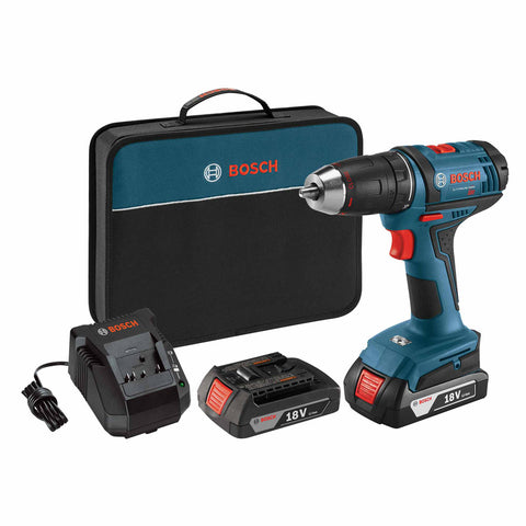 Bosch DDB181-02 18-Volt 1/2-Inch Compact Drill Driver Kit