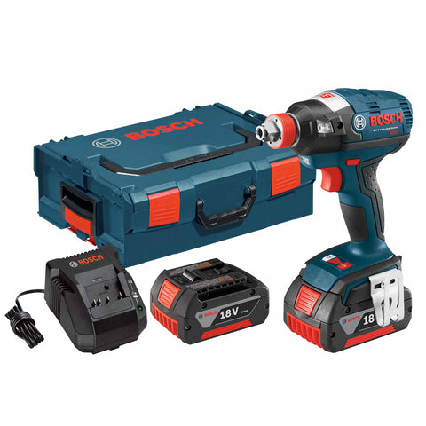 Bosch IDH182-01L 18V Cordless Li-Ion Brushless Socket Ready Impact Driver Kit