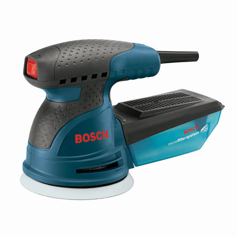 "Bosch ROS20VSC 5"" Variable-Speed Palm Random Orbit Sander with Carrying Bag"