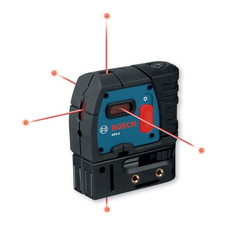 Bosch GPL5 5 Point Self-Leveling Alignment Laser