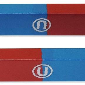 North/South Bar Magnets, 3 inch Length - Pack of 2