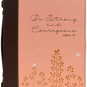 "Women's Bible Cover, ""Be Strong and Courageous- Joshua 1:9"""