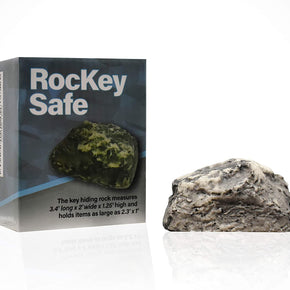 RocKey Safe, Hide A Key in Plain Sight in a Real Looking Rock/Stone