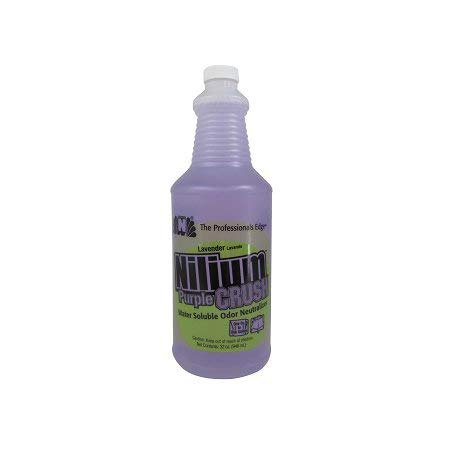 Nilodor Nilium Water Soluble Deodorizer Purple Crush Quart - StaplerManiaStore