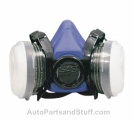 Dual Cartridge Respirator Mask R95/N95 Medium - StaplermaniaStore