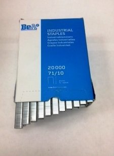 "Bea 71/10 3/8"" long Staple 3/8 Crown; 22 Gauge 20,000 per box. - StaplerManiaStore"
