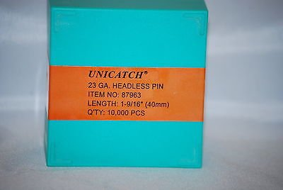 "1-9/16"" 23 Ga. Galv.Unicatch Headless Pins For Grex,Senco,Bostitch 10,000/Box - StaplerManiaStore"