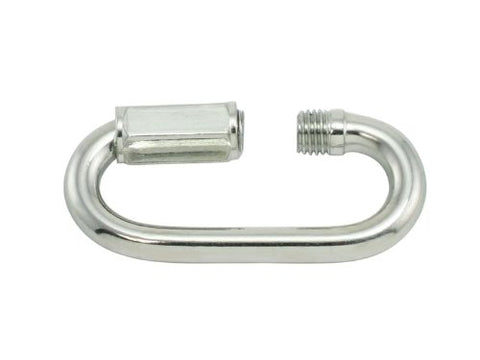 "20 Zinc Plated Quick Links for 1/8"" Chain - StaplerManiaStore"