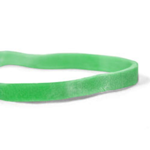 "CWC #33 Rubber Bands - #33, 3-1/2"" x 1/8"", Dark green, Crepe (Pack of 25 boxes)"