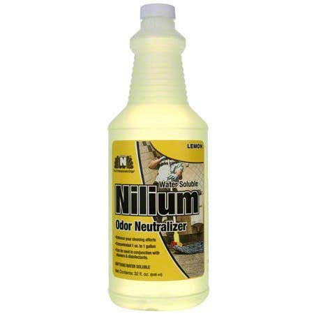 Nilodor Nilium Water Soluble Deodorizer-Lemon, Qt. Each