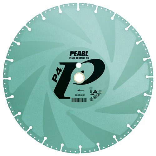 Pearl Abrasive P4 Multi-Cut Utility Demolition Blade with Side Protection - StaplerManiaStore