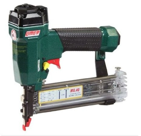 "OMER MG.40 21 GAUGE 1/2"" - 1-9/16"" 21 GAUGE PIN AND BRAD NAILER - StaplerManiaStore"