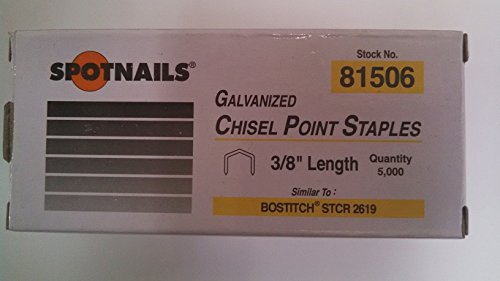 "STCR2619 3/8"" Staples For Bostitch - StaplermaniaStore"