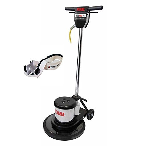 "Pearl Abrasive 17"" PRO BUFFER Turbo Max HD Floor Machine HEX1BFRHD with BUFVAC1 Dust Vac Kit - StaplerManiaStore"
