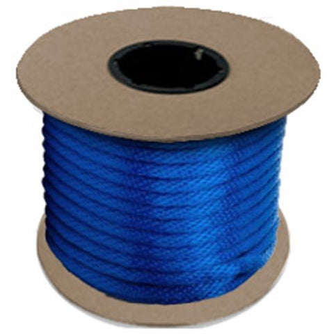 "Halter - Lead Rope - Blue - Braided - MFPP 5/8"" x 200', 2300 lbs Tensile (1 Spool) - CWC-115410 - StaplerManiaStore"