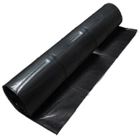 Black Polyethylene Plastic Sheeting - StaplerManiaStore