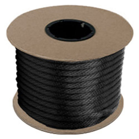 "Halter - Lead Rope - Black - Braided - MFPP 27/64"" x 500', 1150 lbs Tensile (1 Spool) - CWC-115334 - StaplerManiaStore"