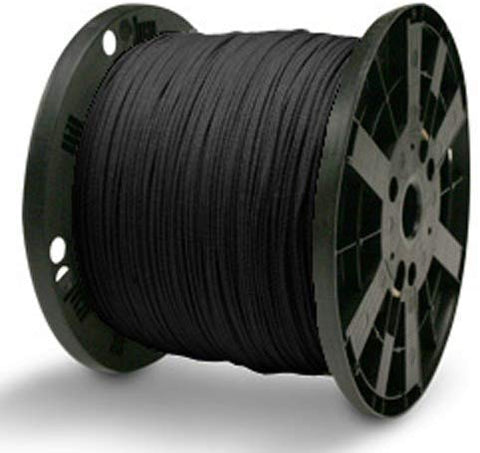 "Venetian Blind Cord - 1/8"" x 600 ft, Black"