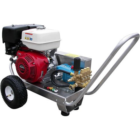 Pressure Pro EB4040HC Heavy Duty Professional 4,000 PSI 4.0 GPM Honda Gas Powered Belt Drive Pressure Washer With CAT Pump - StaplerManiaStore