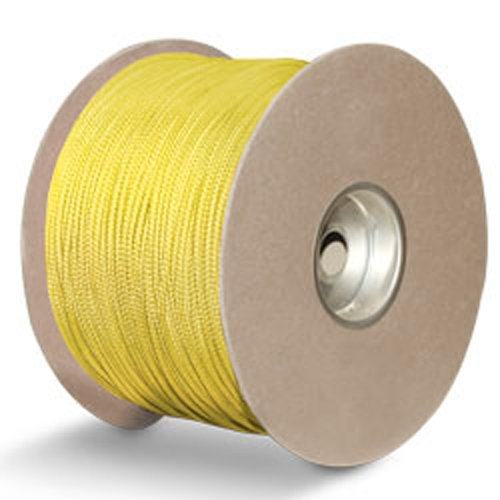 "Polyester w/Kevlar Sensor Cord - 1/8"" x 1000 ft., Yellow - StaplerManiaStore"