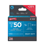 "Arrow T50 Staples - 50824, 1/2"" (12mm) 1250 per box - StaplerManiaStore"