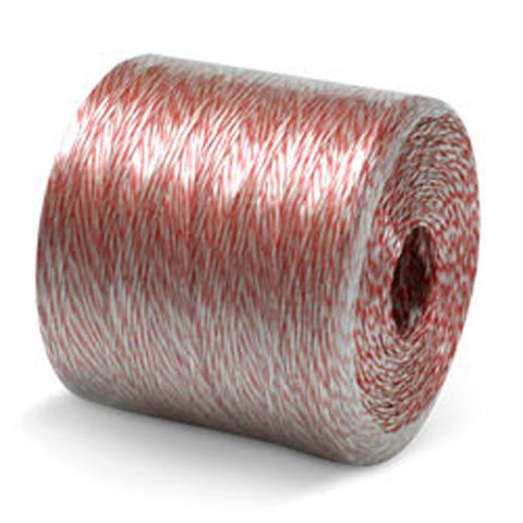 Conduit Pull Line - White & Red - 2200', 500 lbs Tensile, 10# tube (1 Tube/Spiral Wrap) - CWC-027430 - StaplerManiaStore