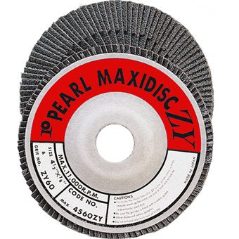 600 Grit Pearl 4in Maxi Disc Carbide Sanding Disc - StaplermaniaStore